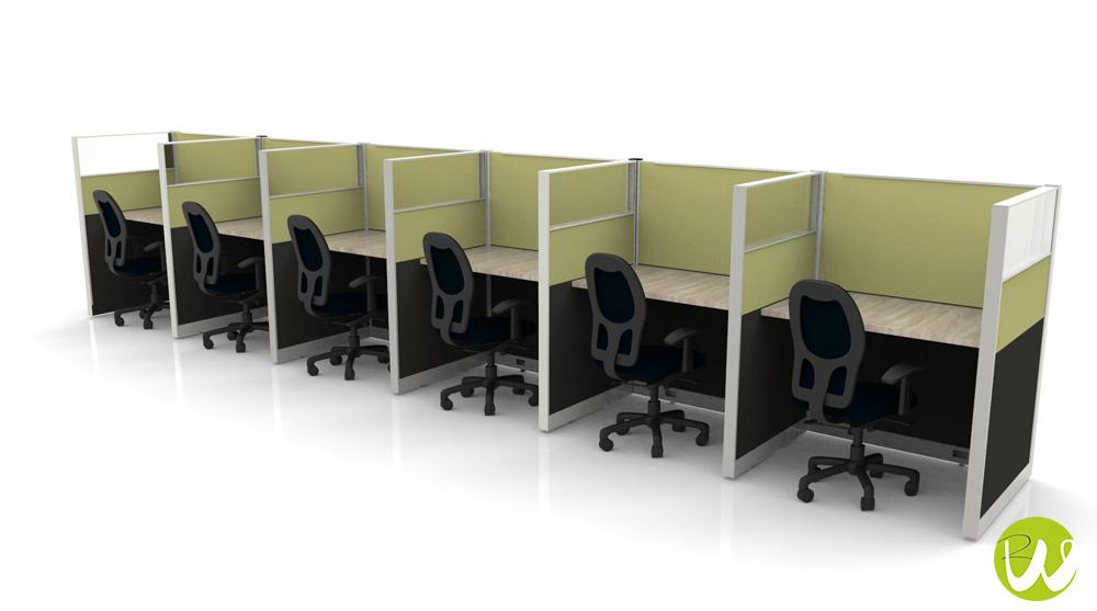 Muebles para call center en monterrey por riwell somos for Muebles minimalistas monterrey