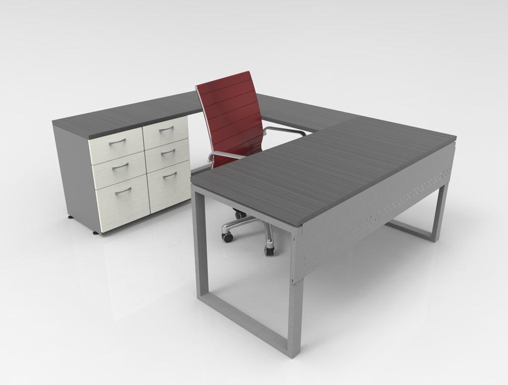 Escritorios para oficina en monterrey por riwell venta y - Cubre escritorio ...