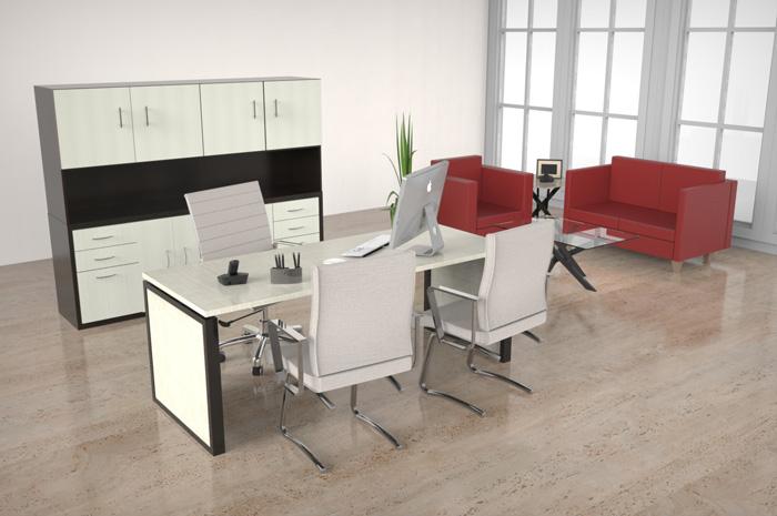 Escritorios para oficina en monterrey por riwell venta y for Escritorios para oficina economicos