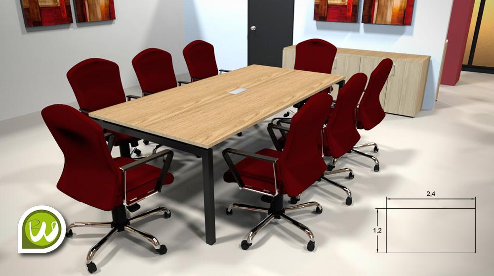 Mesas para Juntas en Monterrey — Riwell