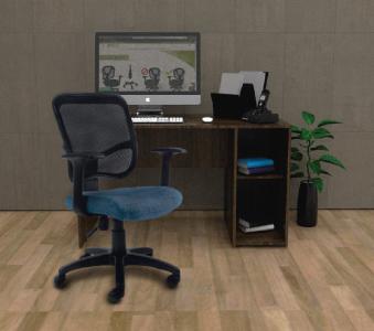 Silla Oficina Home Office Secretarial Ergonómica para Niños y Adultos